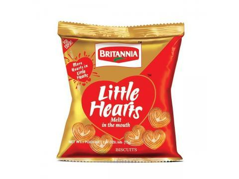Britannia Little Hearts Biscuits