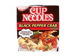 Nissin Cup Noodles Black Pepper Crab Flavour