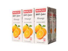 Marigold 100% Juice Orange (250 ML x 6)
