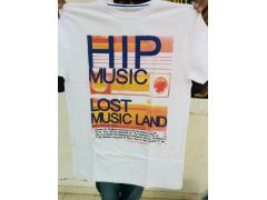 110% cotton With Digital Printed High Quality T-Shirt