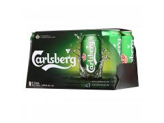 Carlsberg Premium Beer - 6 x 330ml
