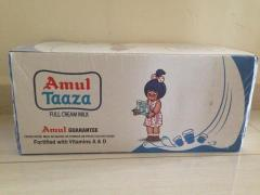 Amul Taaza Full Cream Milk - Case