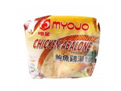 Myojo Chicken Abalone Flavoured Instant Noodles
