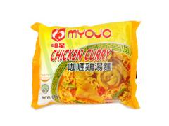 Myojo Chicken Curry Flavoured Instant Noodles